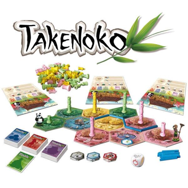 Takenoko игрални компоненти