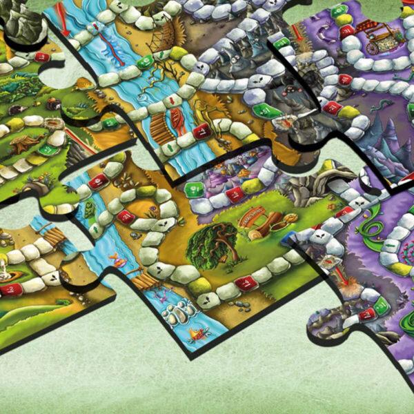Таласъмски истории - детска настолна играТаласъмски истории - детска настолна игра - игрално поле