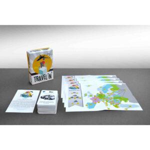 Travelin' - настолна игра - компоненти