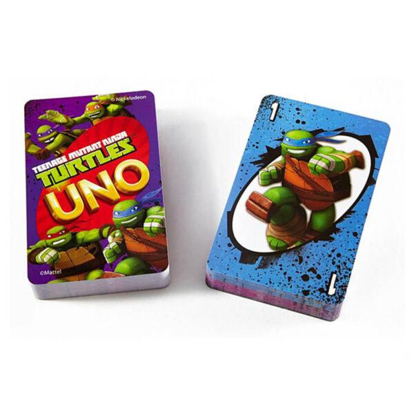 UNO Костанурките нинджа - карти