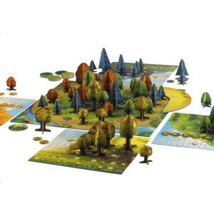 Фотосинтеза - настолна игра - компоненти