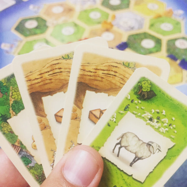 Catan - базова бордова игра - карти