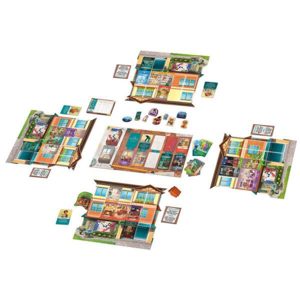 Дом Мечта - семейна настолна игра - компоненти