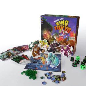 King of Tokyo - семейна настолна игра - компоненти