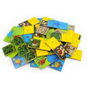 Кингдомино - семейна бордова игра - плочки