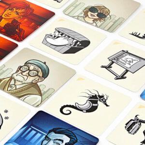 Кодови имена: Картини - парти настолна игра - компоненти
