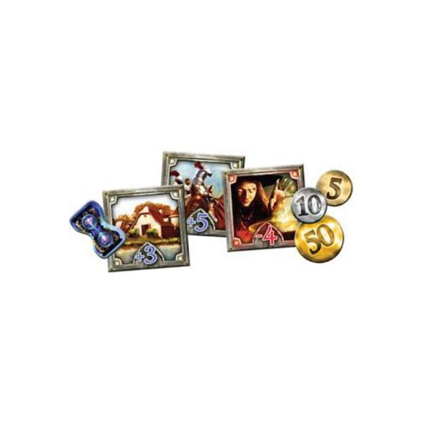 Кралства - стратегическа настолна игра - компоненти