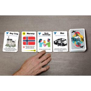 Travelin' - настолна игра - карти