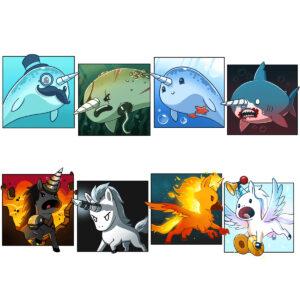 Unstable Unicorns - парти игра - карти