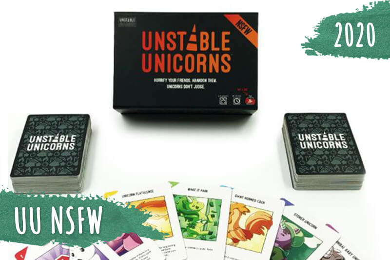 Unstable Unicorns игра с карти