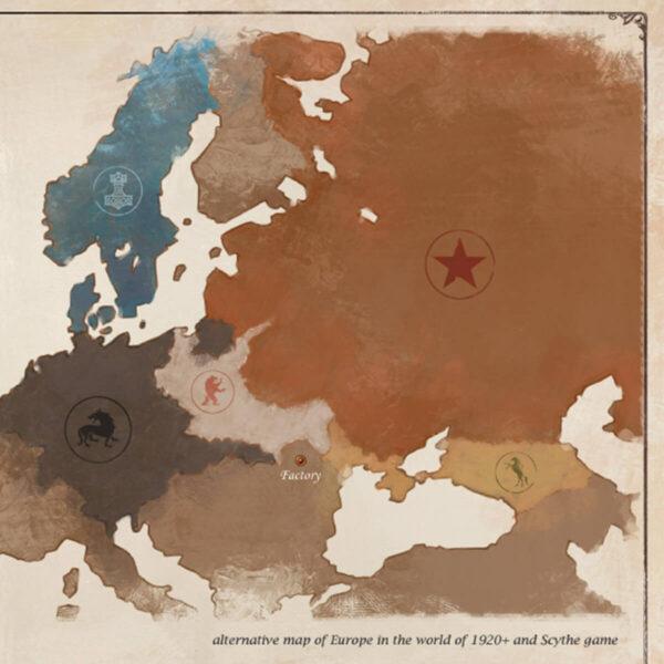 Scythe - стратегическа настолна игра - карта