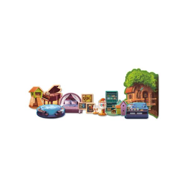 Дом Мечта - семейна настолна игра- компоненти