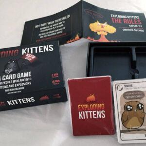 Exploding Kittens: NSFW edition - парти настолна игра - компоненти