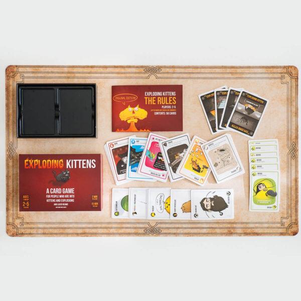 Exploding Kittens: Original edition - парти настолна игра - компоненти
