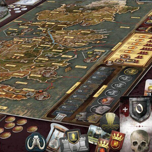 Игра на тронове - стратегическа настолна игра - компоненти