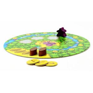 Какао - семейна настолна игра - игрално поле