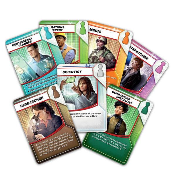 Пандемия - семейна настолна игра - карти