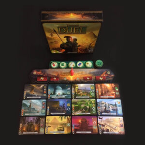 7 Wonders Duel - игрално поле