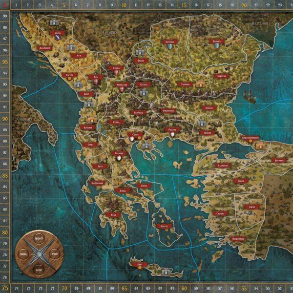 Битката за Балканите Игрално Поле