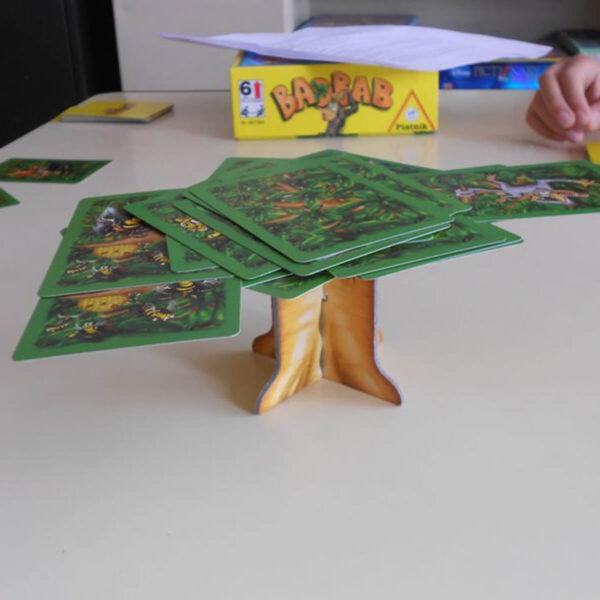 Боабаб - детска настолна игра - компоненти