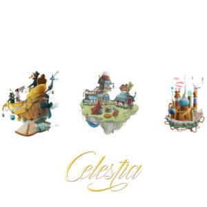 Celestia - семейна настолна игра - арт