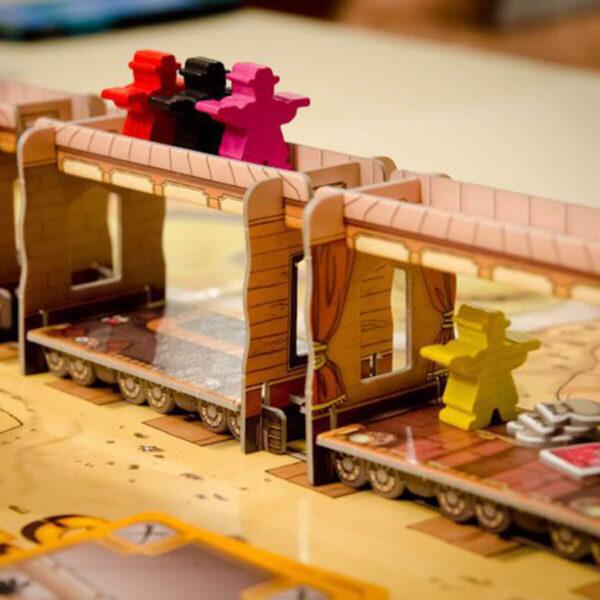 Колт Експрес - семейна настолна игра - компоненти