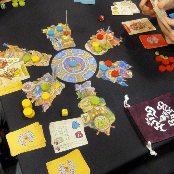 Кралят на Бардовете - бордова игра - как се играе
