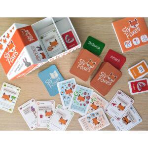 Sly Foxes - настолна игра - компоненти