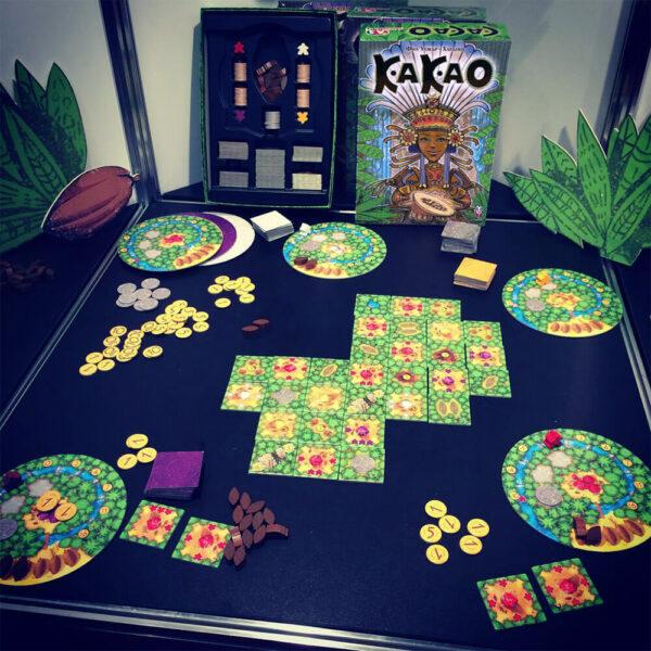 Какао - семейна настолна игра - реална обстановка
