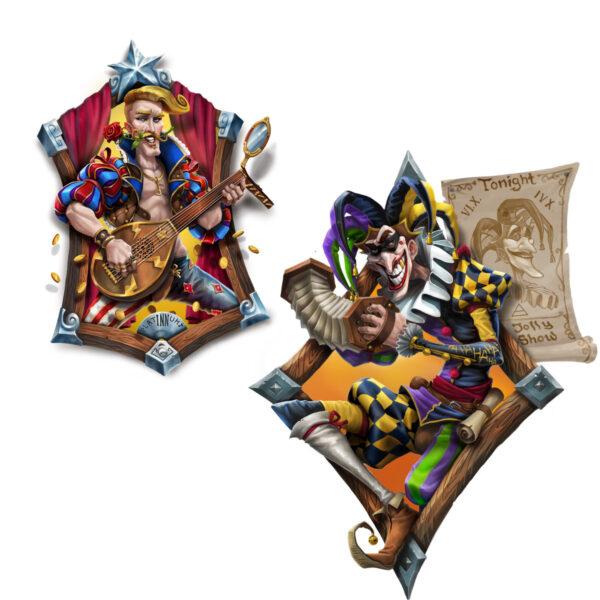 Кралят на Бардовете - бордова игра - арт