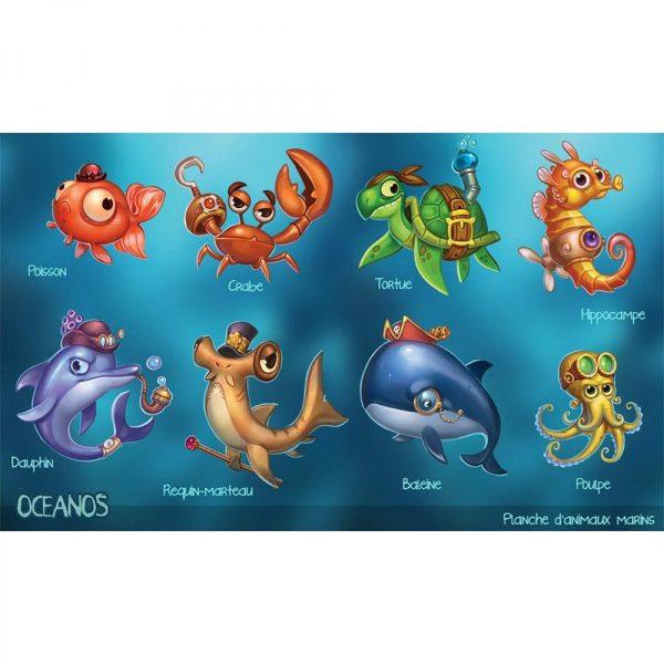Океания-морски животни