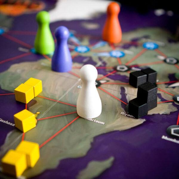 Пандемия - семейна настолна игра - компоненти