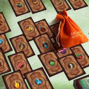 Таласъмски истории - детска настолна игра - карти