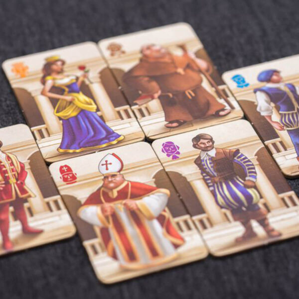 Verona Twist - игра за двама - компоненти