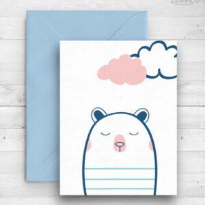 Картичка с Мечка