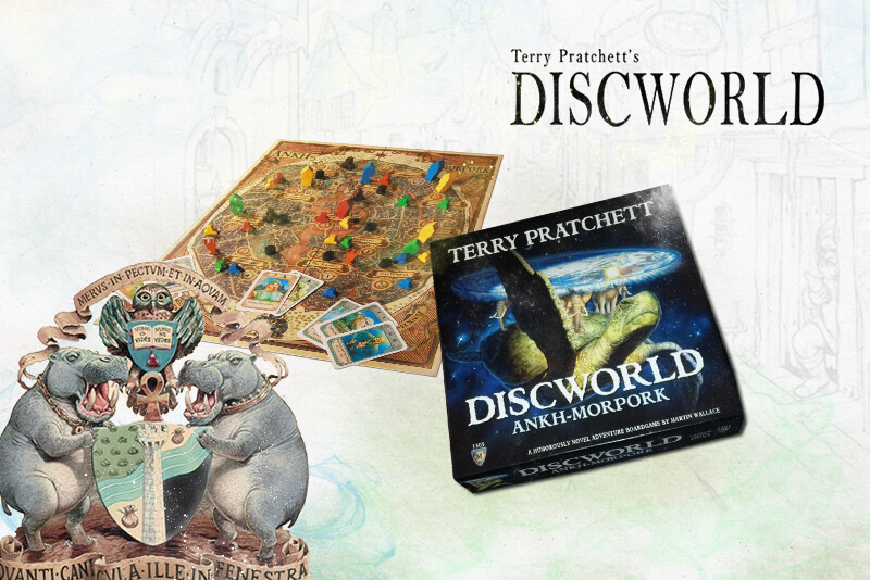 Terry Pratchet's Discworld: Ankh-Morpork Board Game