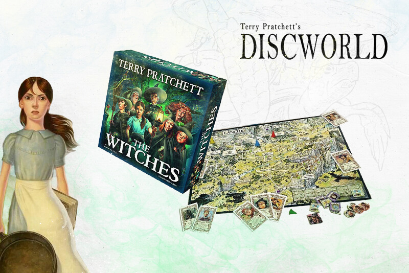 Terry Pratchett - The witches board game