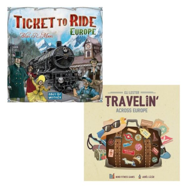 Travelin New Edition - Ticket to ride Europe