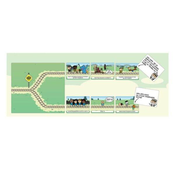 Трамвай Терзание - парти настолна игра - компоненти