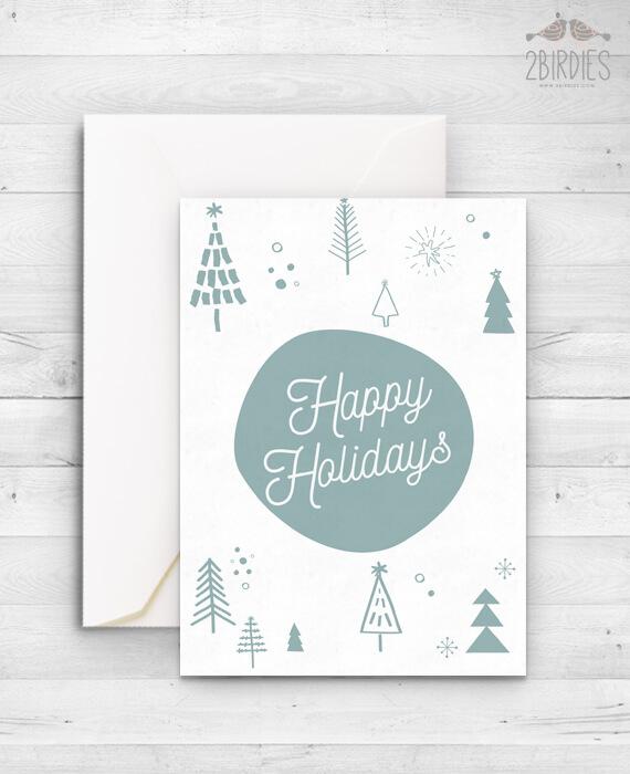 Картичка Happy Holidays