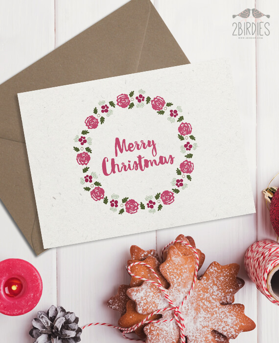 Картичка Merry Christmas