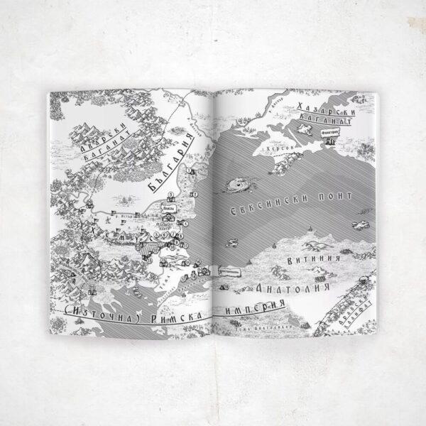 Тервел - Роденият да побеждава - карта