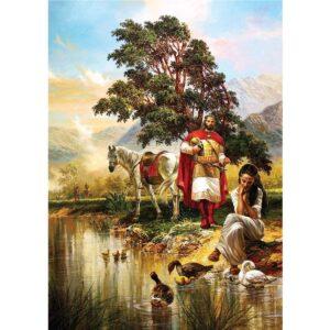Легендата за Цар Самуил - Фолклорен пъзел от 1000 части