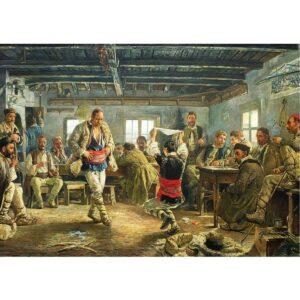 Български фолклорен пъзел Ръченица 1000 части