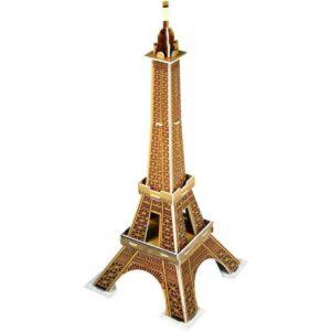 Мини пъзел 3D - Айфелова кула - макет
