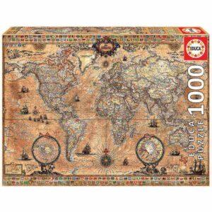 Антична карта на света - кутия