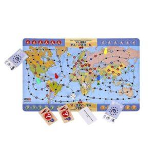 Чудесата на света - семейна настолна игра - компоненти