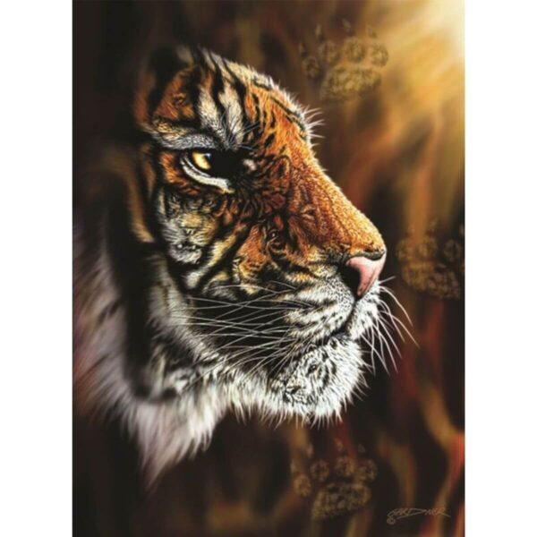 Пъзел - Див тигър - картина