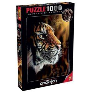 Пъзел - Див тигър - кутия