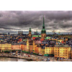 Гледка от Стокхолм - картина